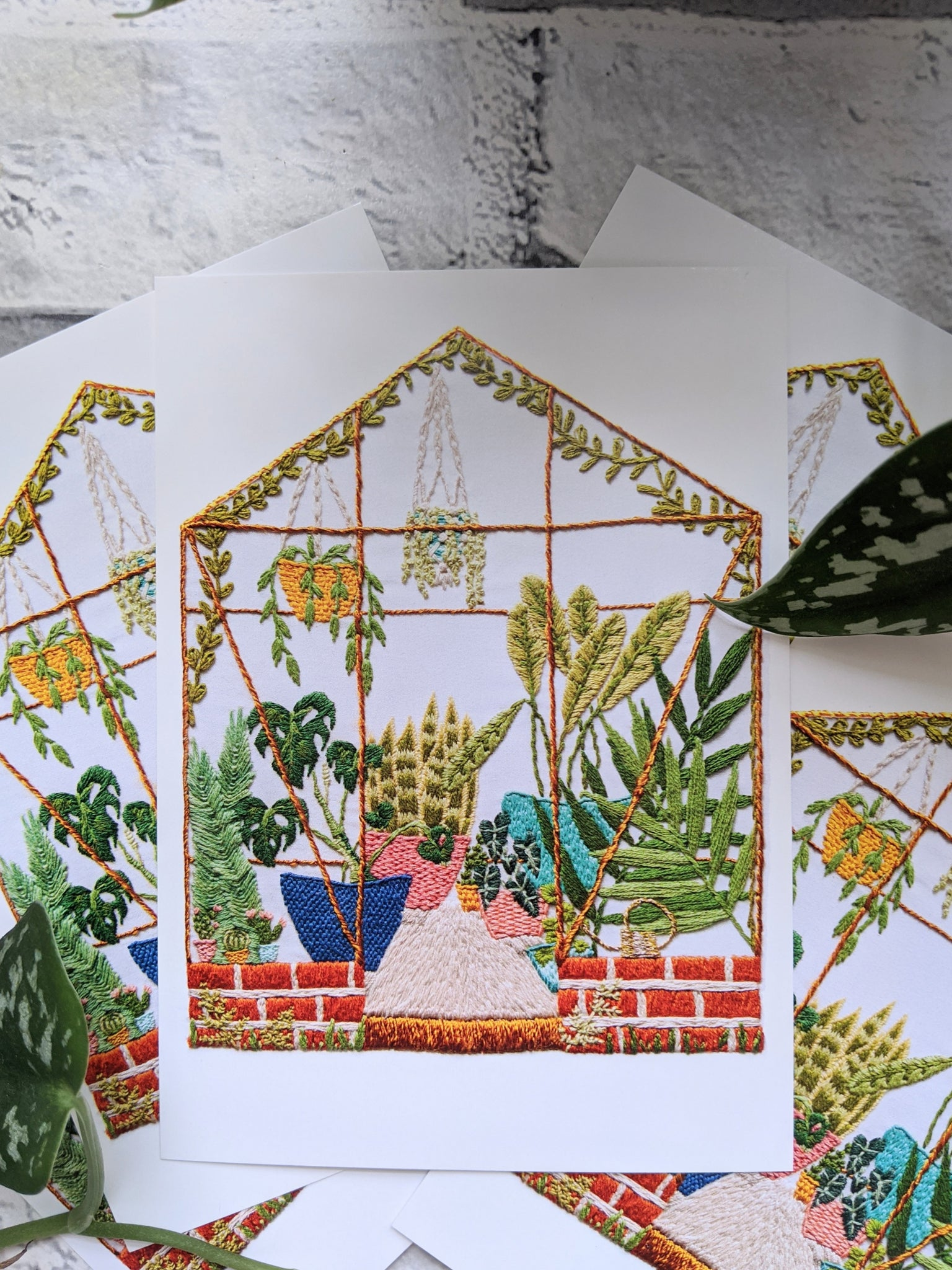 Greenhouse Postcard Pack