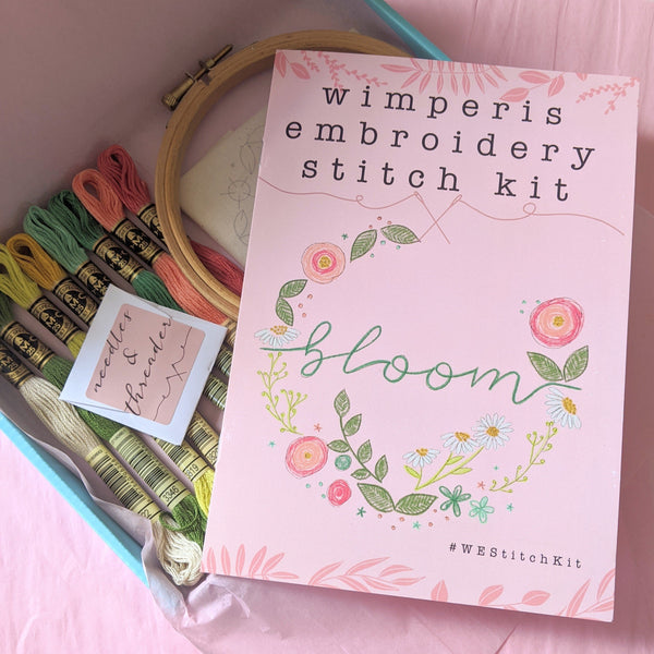 Bloom Embroidery Kit