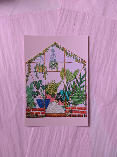 A5 Embroidery Prints / Postcards