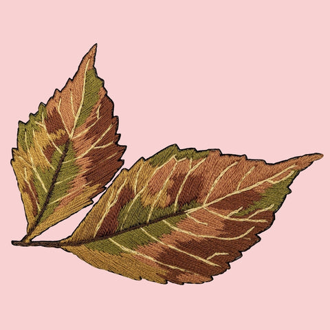 Autumn Leaf Embroidery Kit