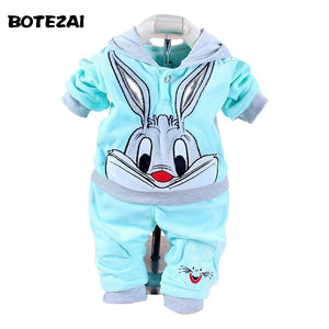 Baby Girls tracksuit set Cartoon Rabbit & Hello Kitty Winter Autumn in multiple colors and sizes