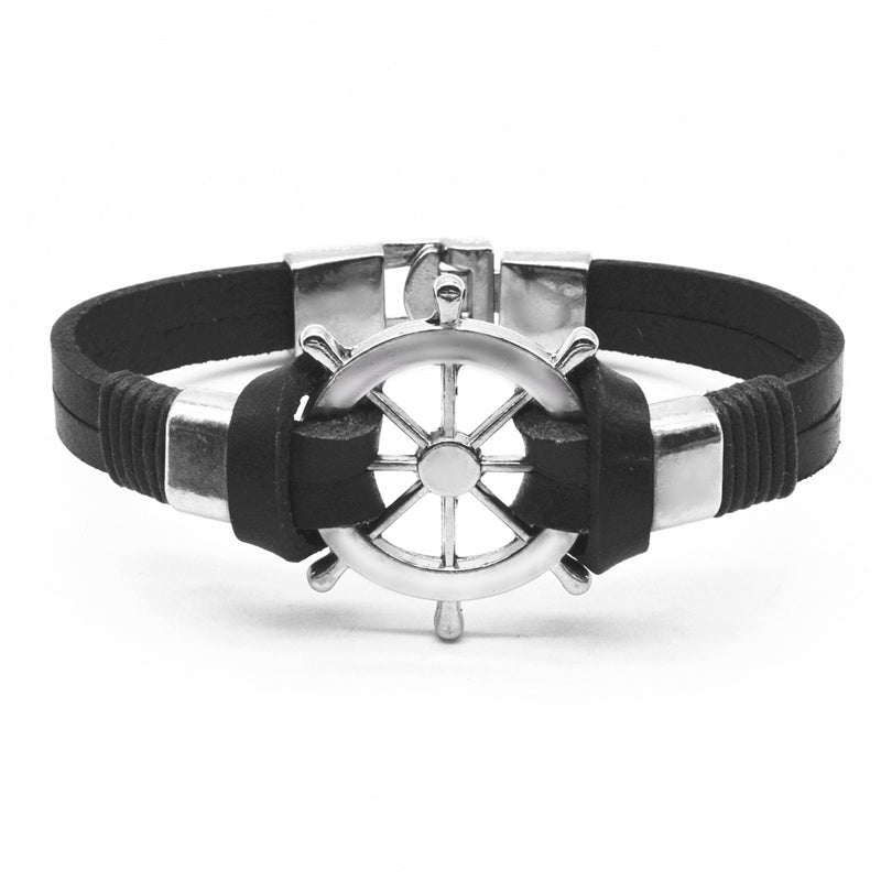 Captain Vintage Leather Bracelet