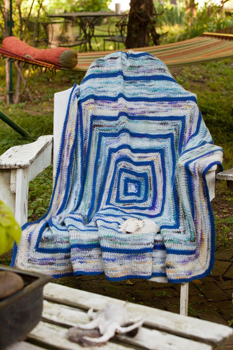 Calm Waters Afghan Pattern Universal Yarn