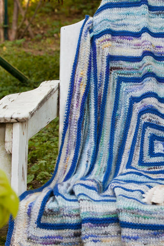 Calm Waters Afghan