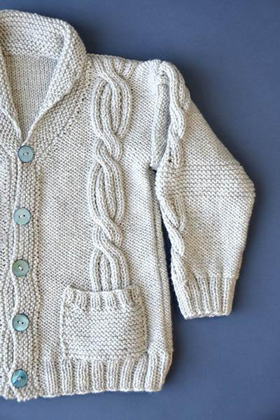Rough and Tumble Cardigan Pattern Universal Yarn