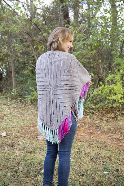 Windmill Shawl Pattern Universal Yarn