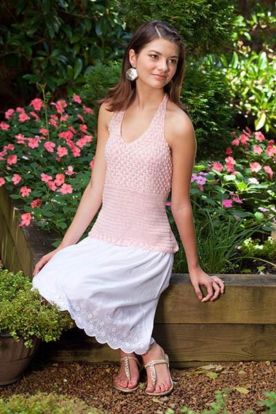 Rose Garden Halter Top Pattern Nazli Gelin