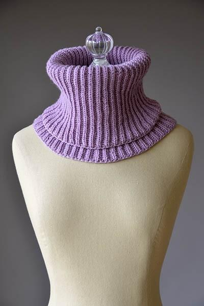 Cozy Snood Pattern Fibra Natura