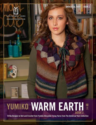 Yumiko Warm Earth Book 2 Pattern Universal Yarn