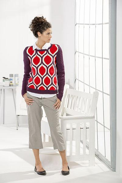 Carpet Sweater Pattern Fibra Natura
