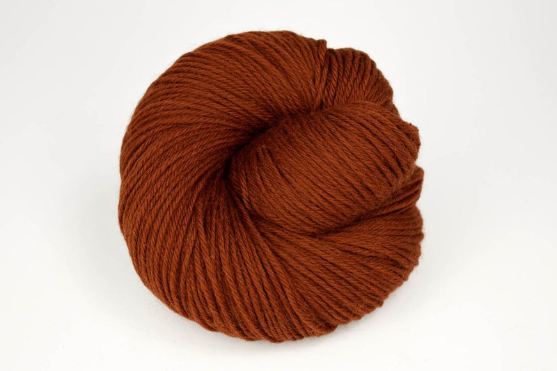 Deluxe Worsted - NEW Yarn Universal Yarn 12505 Rust Heather