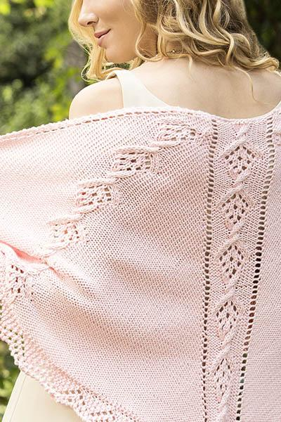 Happiness Shawl Pattern Universal Yarn