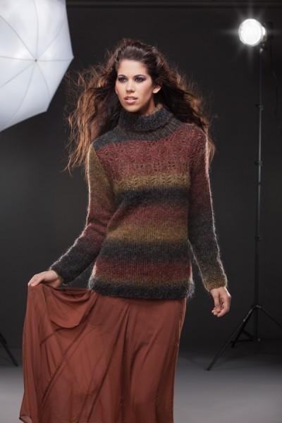 Backstage Turtleneck Pattern Universal Yarn