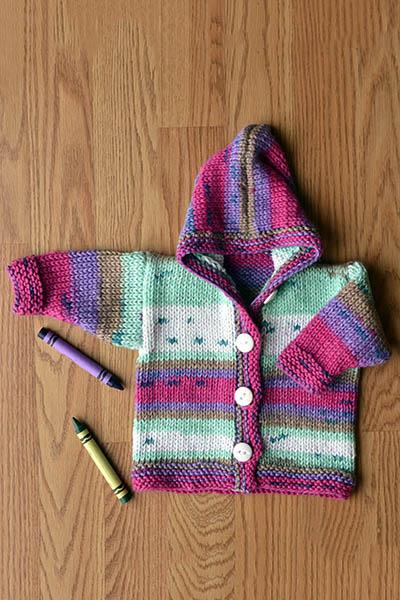 Jump for Joy Hoodie Pattern Universal Yarn