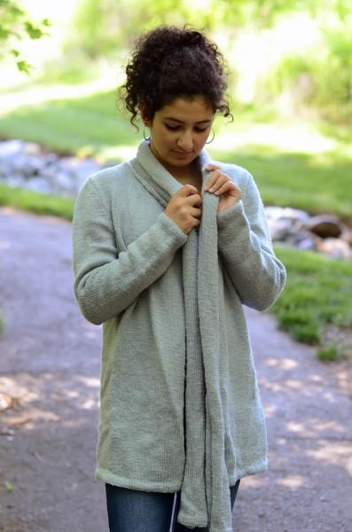 Scarf Cardigan and Bow Hat Pattern Universal Yarn