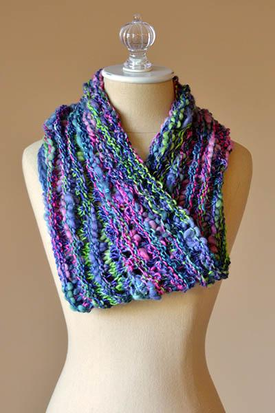 One Side Cowl Pattern Universal Yarn