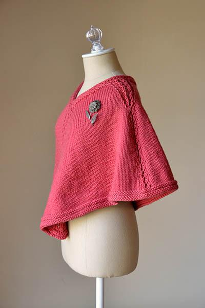 Briar Rose Capelet Pattern Universal Yarn
