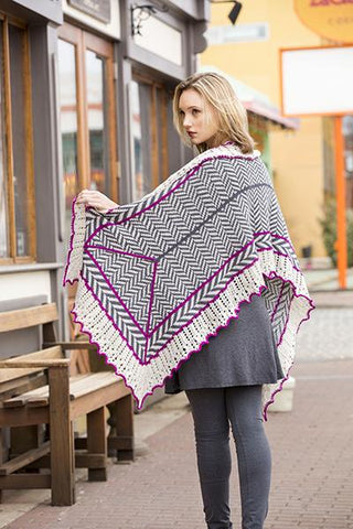 Herringbone Shawl