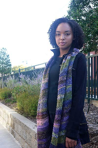 Summit Scarf Pattern Universal Yarn