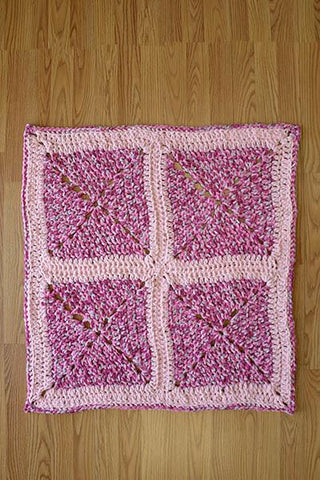 Crosshatch Baby Blanket