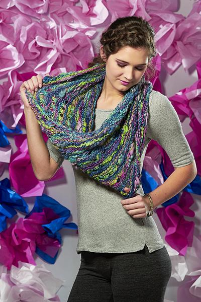Bamboo Bloom Book 2: Bloom in Color Pattern Universal Yarn