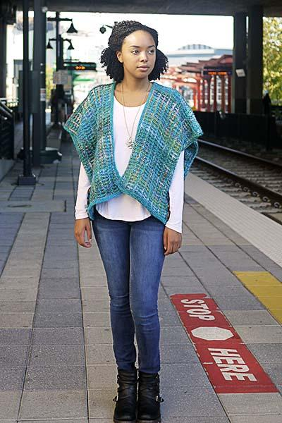 Kingston Cardigan Pattern Universal Yarn