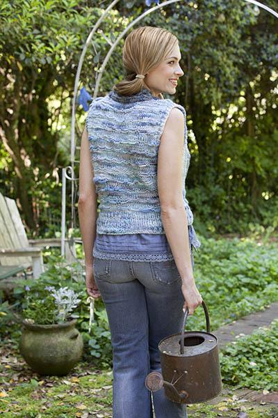 Long Way Around Vest Pattern Universal Yarn