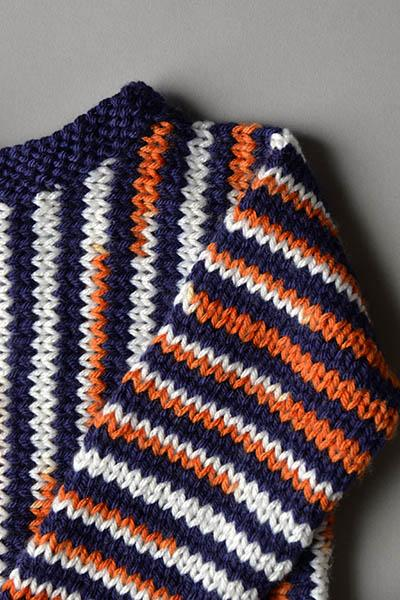 Side to Side Stripes Pattern Universal Yarn