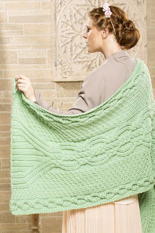 Twisted Lattice Shawl