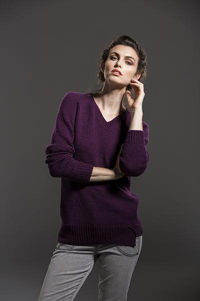 Extension Sweater Pattern Fibra Natura
