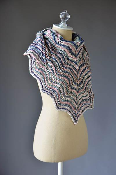 Ebb Tide Shawl Pattern Universal Yarn