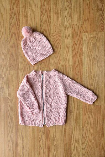 Cozy Kid Set Pattern Universal Yarn