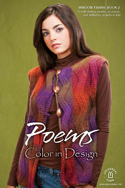 Wisdom Book 2: Poems Colors in Design Pattern Wisdom Yarns