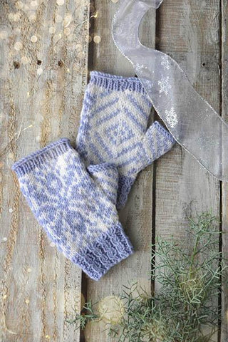 Snowflake Mitts
