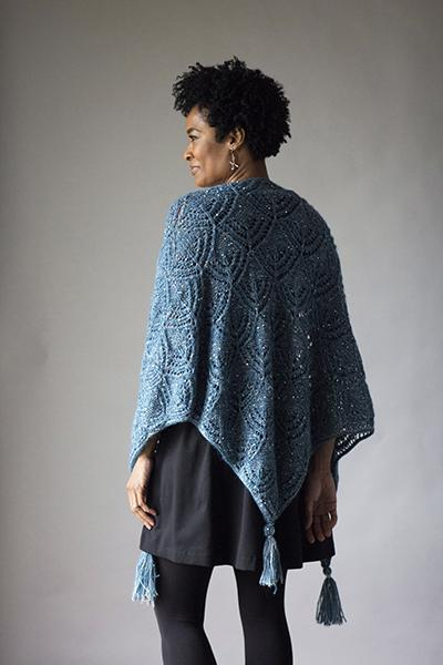 Reflection Shawl Pattern Rozetti Yarns