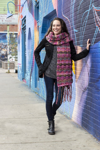 Stripe Magic Scarf