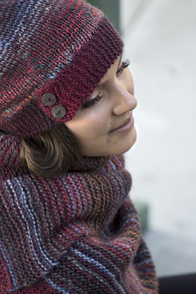 Harmonize Hat and Scarf Pattern Universal Yarn