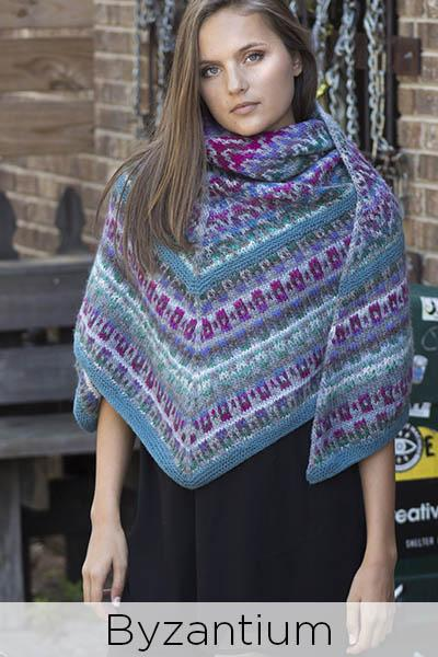 Classic Shades Book 5: The Plaza Collection Pattern Universal Yarn