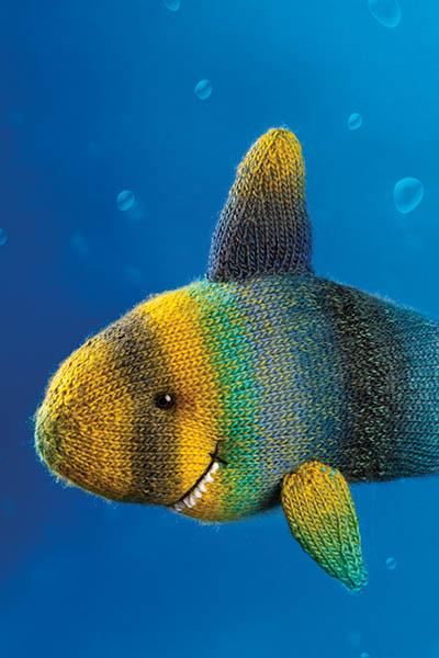 Friendly Shark Pattern Universal Yarn