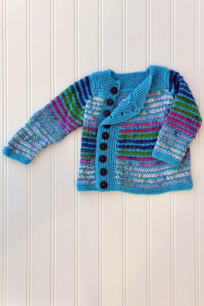 Left of Center Cardi Pattern Universal Yarn