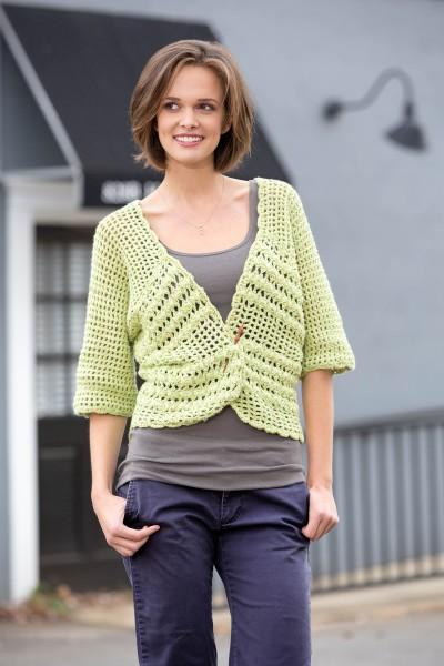 Coming Around Cardigan Pattern Universal Yarn
