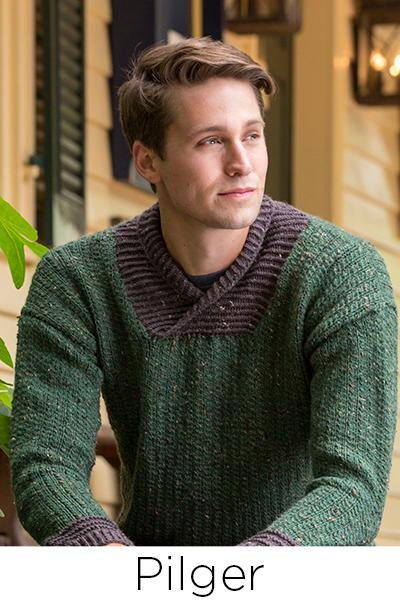 Rustic and Refined Pattern Universal Yarn