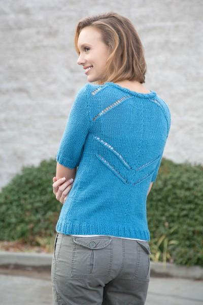 Breaking Wave Pullover Pattern Universal Yarn