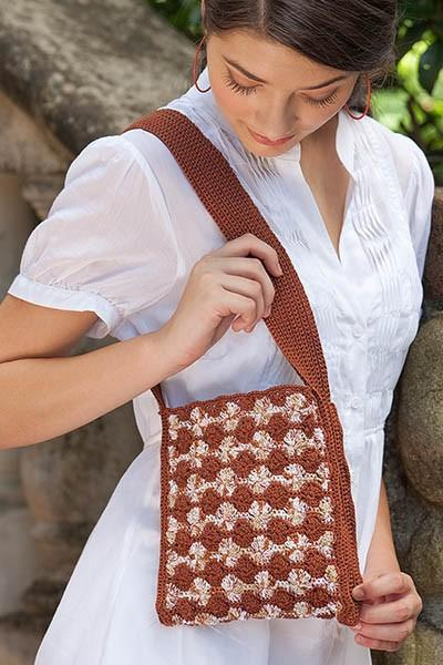 Tree Bark Bag Pattern Nazli Gelin