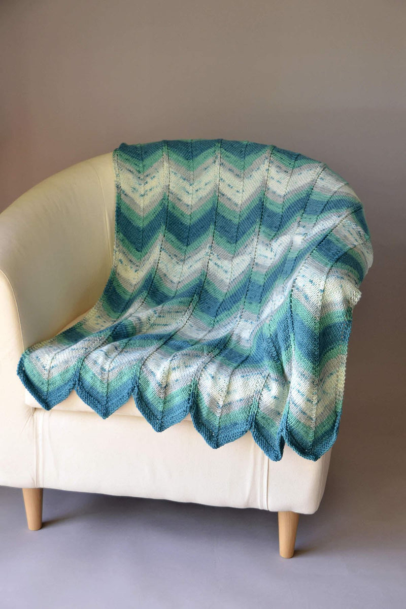 Beachcomber Blanket Pattern Universal Yarn