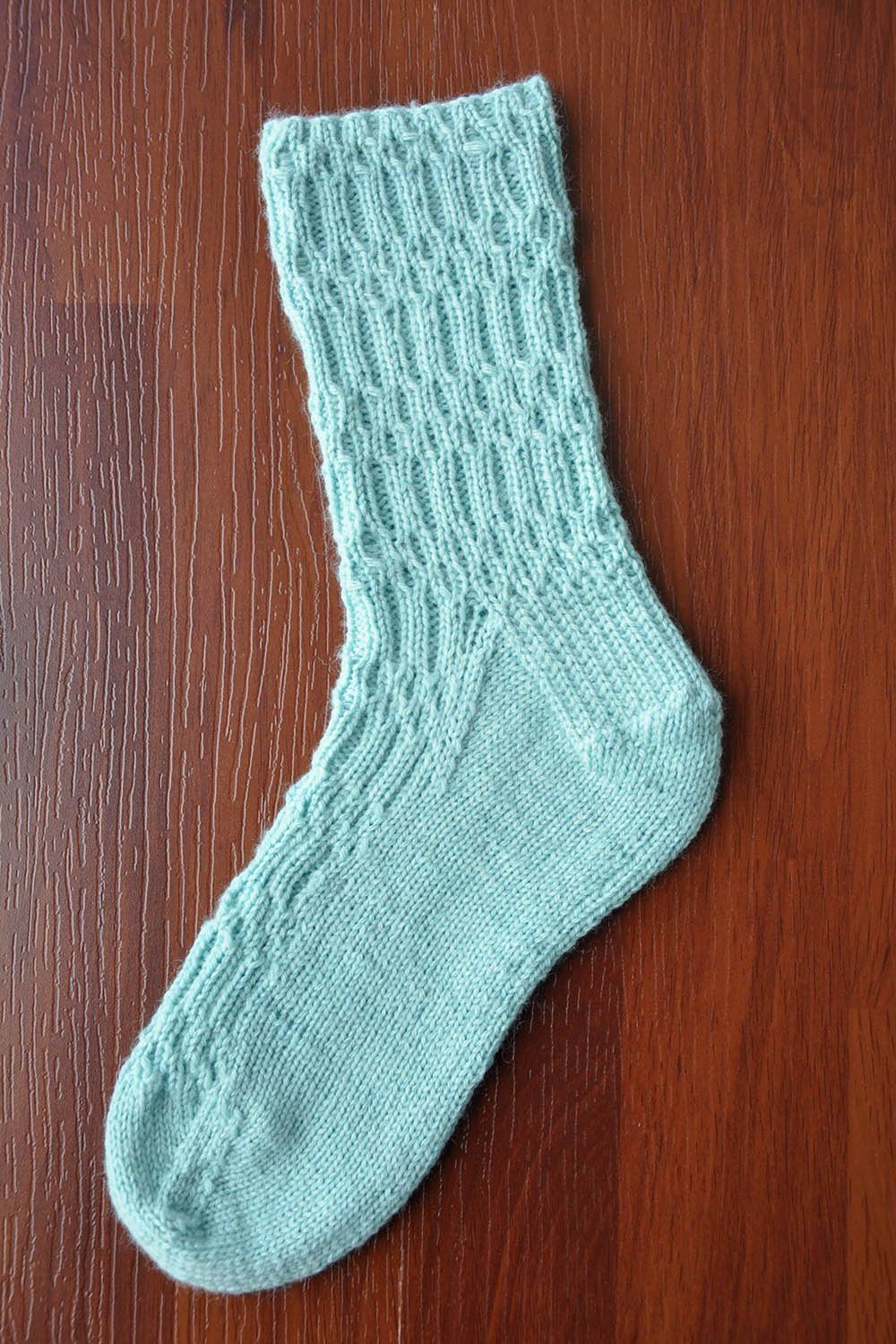 Sea Socks Pattern Wisdom Yarns