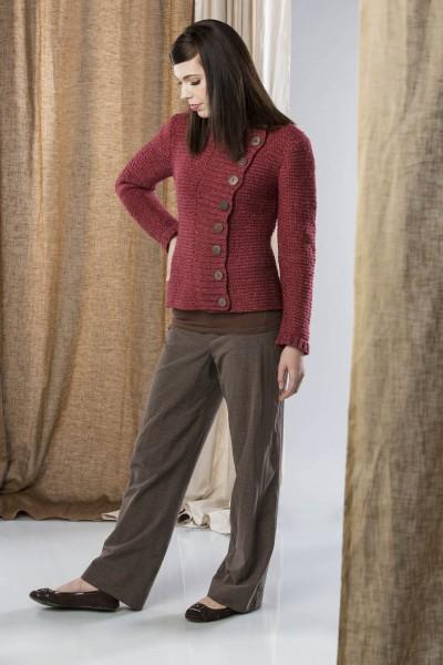 Winding Road Jacket Pattern Fibra Natura