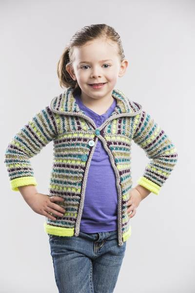 Blocks Jacket Pattern Universal Yarn