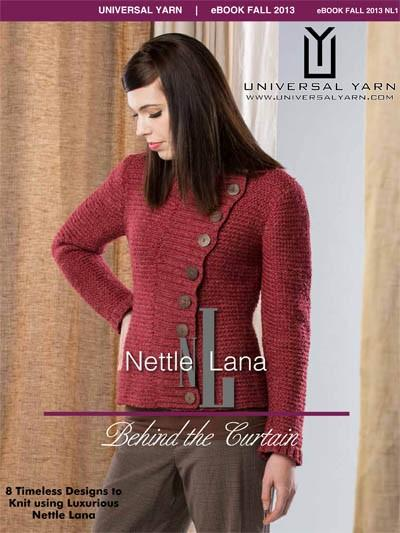 Nettle Lana: Behind the Curtain Pattern Universal Yarn