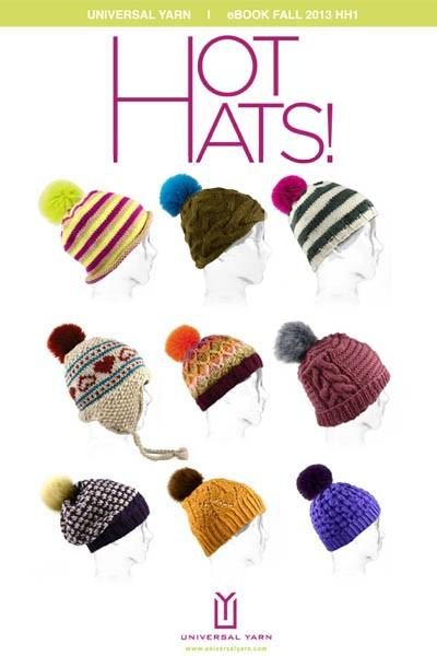 Hot Hats Pattern Universal Yarn